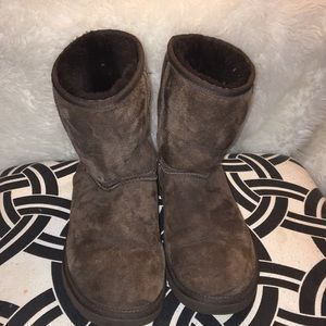 Short Chocolate Brown UGGS